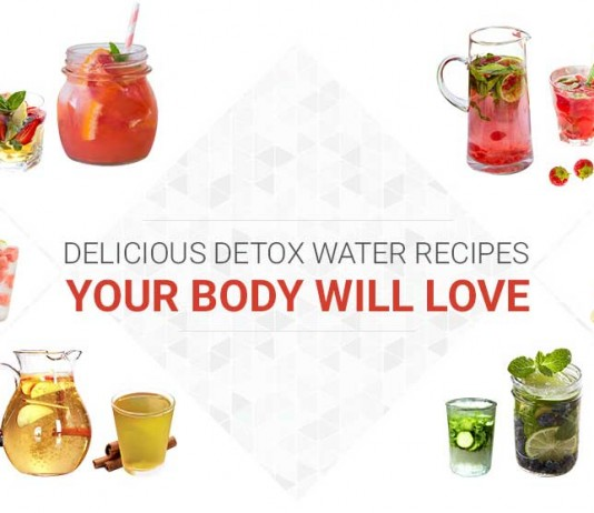 water detox recipes