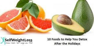 Detox foods you can try after holidays