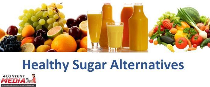 Content Media: Healthy Sugar Alternatives