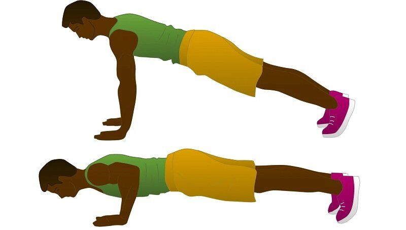 Push-up for your Chest