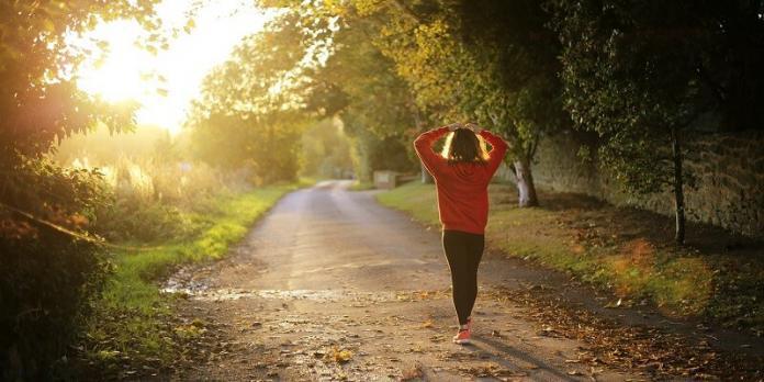 walking routine